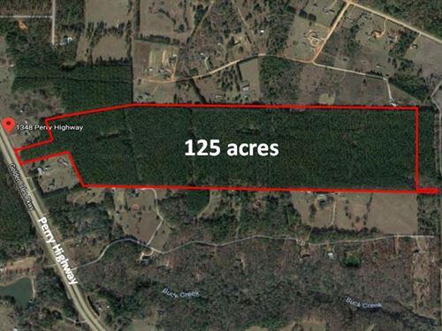 125 Acres In Pulaski County : Hawkinsville : Pulaski County : Georgia