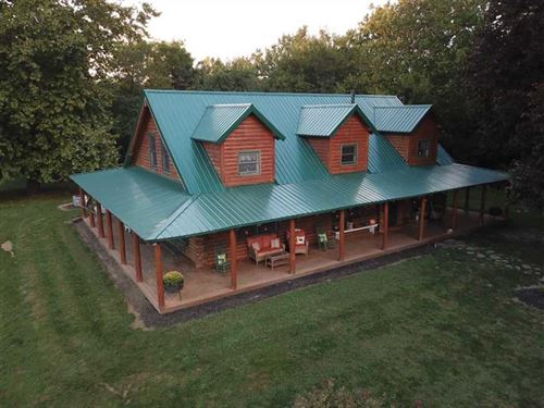 Bear Paw Hunting Lodge : Perrysville : Fountain County : Indiana