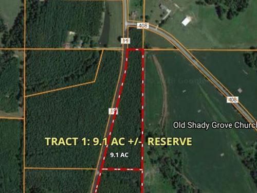 Timberland Auction, Tract 1 9.1 : Dutton : Jackson County : Alabama