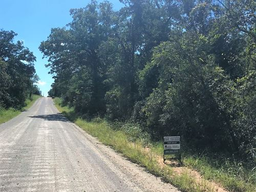 8 Acres For Sale in Pink, OK : Tecumseh : Pottawatomie County : Oklahoma