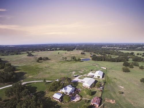 Versatile Texas Ranch Auction : Weatherford : Parker County : Texas