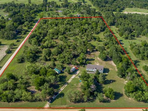 10 Acre Ranchette : North Zulch : Madison County : Texas