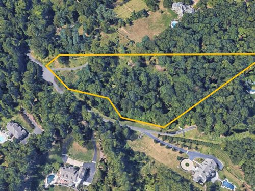 6.4+/- Acre Estate Lot : Bernardsville : Somerset County : New Jersey