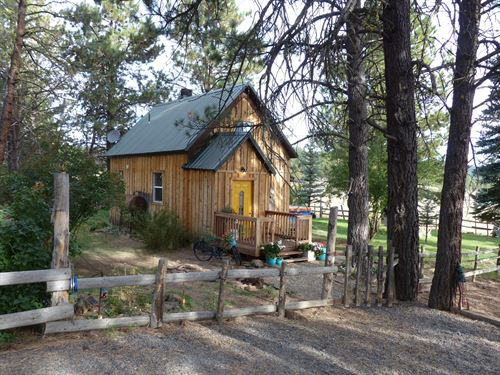 Fuqua Flat Cabin In Malheur Forest : Burns : Harney County : Oregon