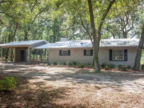 Ranch On 15.15 Ac Bring The Horses : Keystone Heights : Clay County : Florida