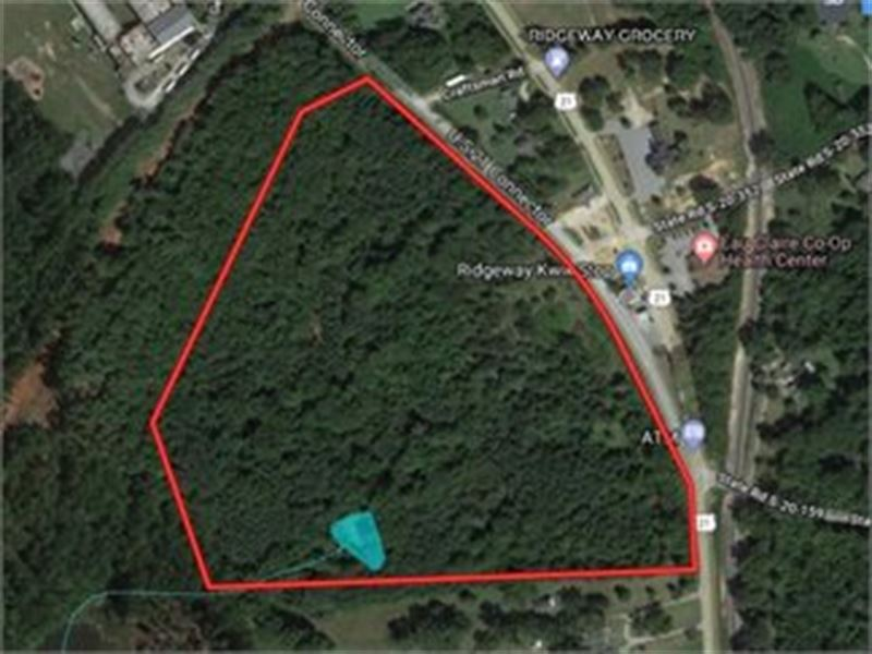 Acreage And Pond, Ridgeway : Ridgeway : Fairfield County : South Carolina