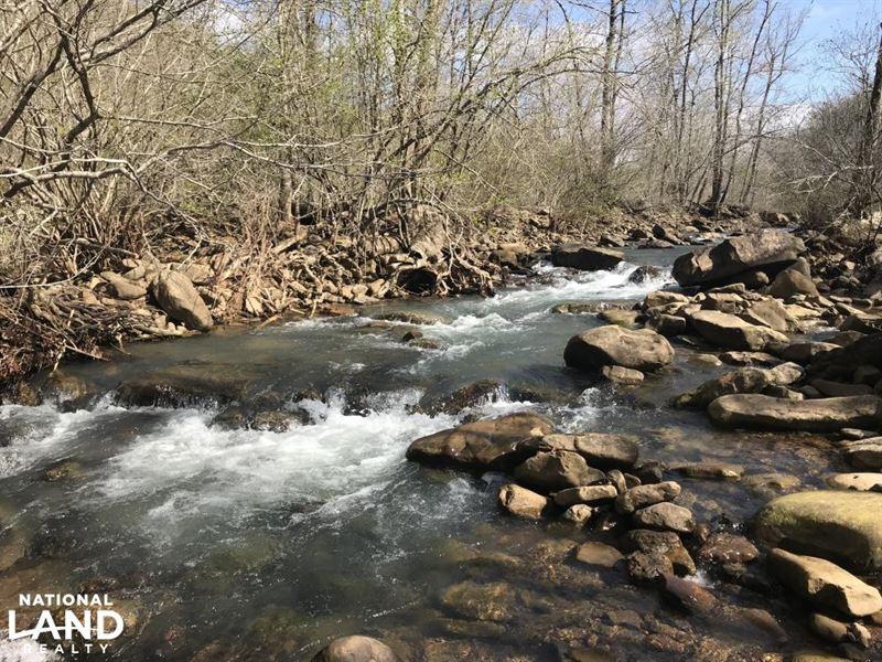 250 Acres on South Fork Little : Rupert : Van Buren County : Arkansas