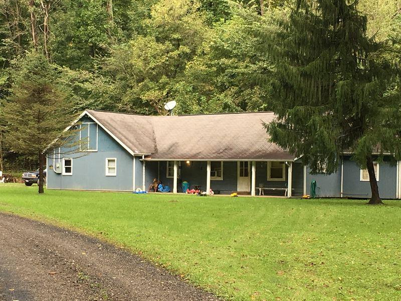 Monroe County OH Hunting Cabin : Farm for Sale : Graysville : Monroe County  : Ohio