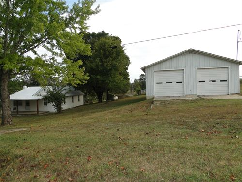 Updated Farm Home For Sale : McClurg : Taney County : Missouri