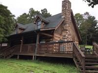 Farm With Log Home : Ferrum : Franklin County : Virginia