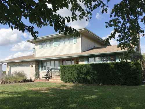2 Story Home 9.57 Acres, Great : Wichita : Sedgwick County : Kansas