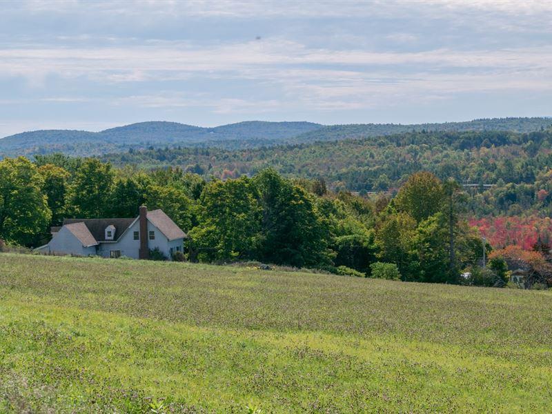 Dixmont, Maine, Mini Farm/Ranch : Dixmont : Penobscot County : Maine