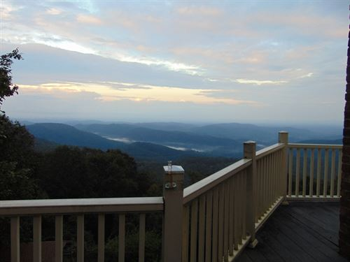 Breathtaking Views Home Blue Ridge : Laurel Springs : Wilkes County : North Carolina