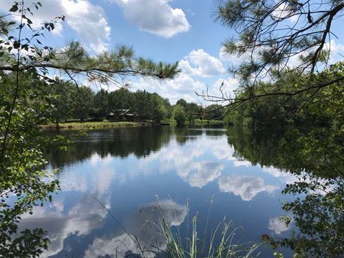 Cedar Creek Cabin : Claxton : Evans County : Georgia
