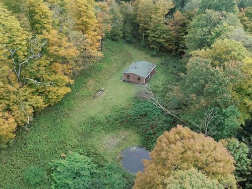 Spacious Recreation Site With Camp : Cincinnatus : Onondaga County : New York