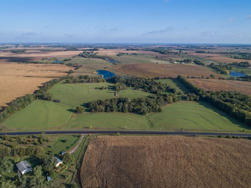 Lancaster County Pasture Land : Crete : Lancaster County : Nebraska