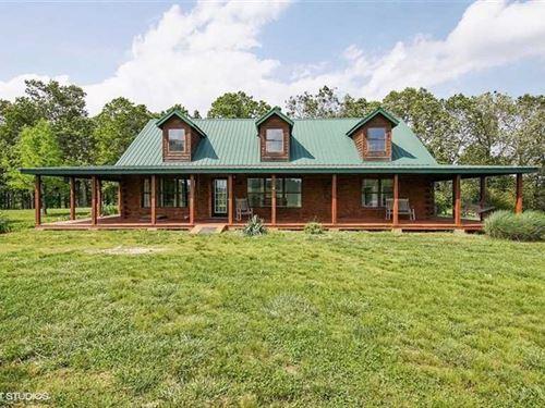 Equestrian Estate in Vanzant, Miss : Vanzant : Douglas County : Missouri