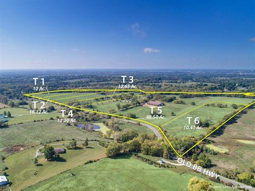 Lots, Land & Ranch Kearney, Mo : Kearney : Clay County : Missouri