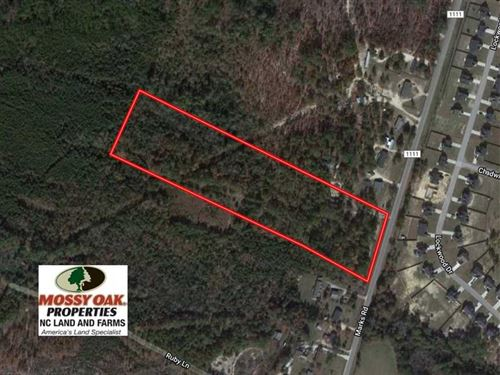 10.92 Acres of Residential And Hun : Cameron : Harnett County : North Carolina
