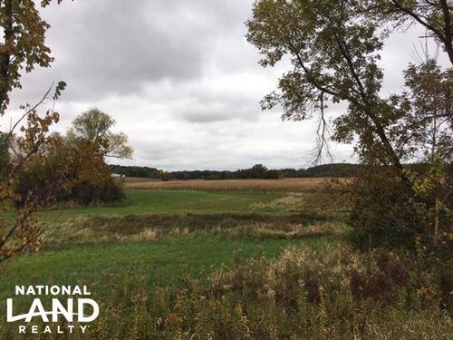 Hunting, Recreational Land : Shieldsville : Rice County : Minnesota