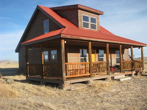 Delightful Country Home On Acreage : Del Norte : Rio Grande County : Colorado