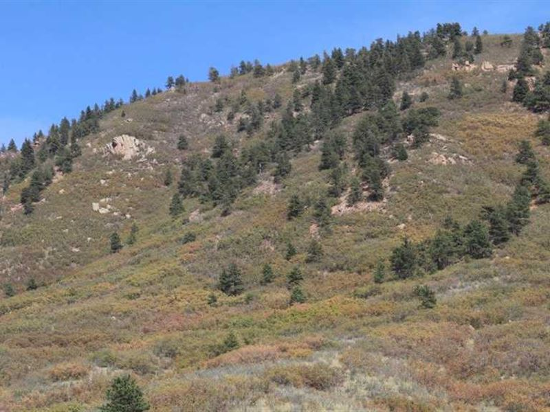 Ute Pass Overlook : Green Mountain Falls : El Paso County : Colorado
