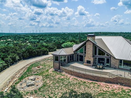Beautiful Luxury Home 55 Acres : Tuscola : Taylor County : Texas