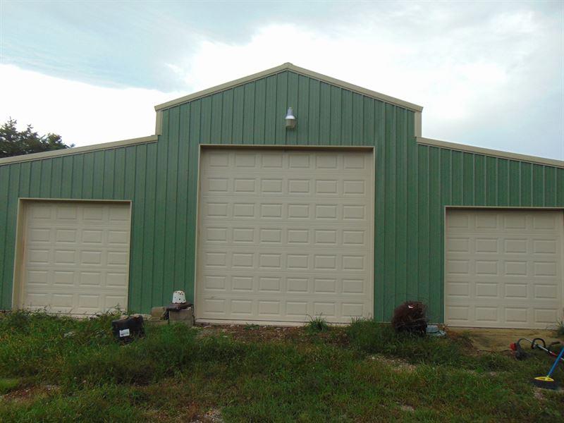 Small Farm in Southern Missouri : Niangua : Webster County : Missouri