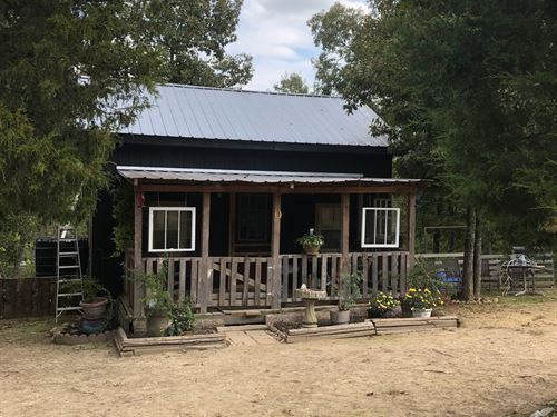 30 Acres Tiny Home Country TN River : Lobelville : Perry County : Tennessee