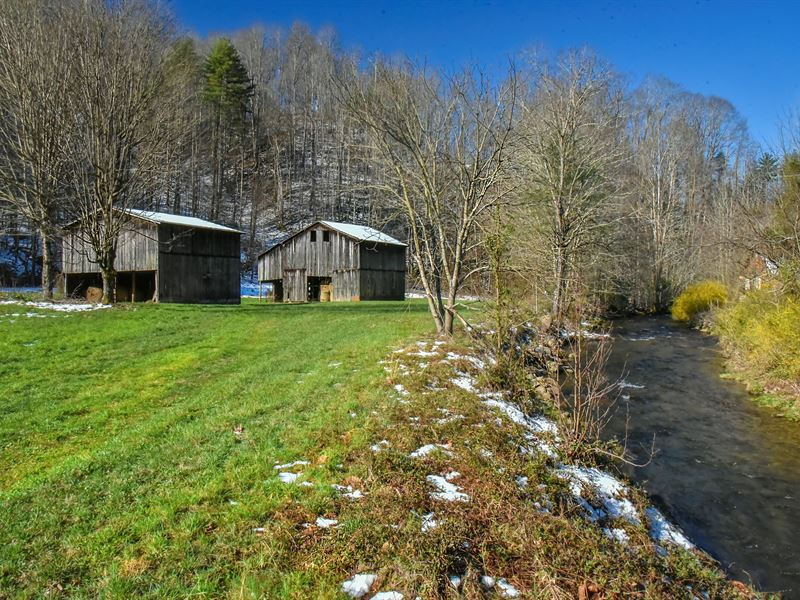 Mountain Farm Opportunity : Marshall : Madison County : North Carolina
