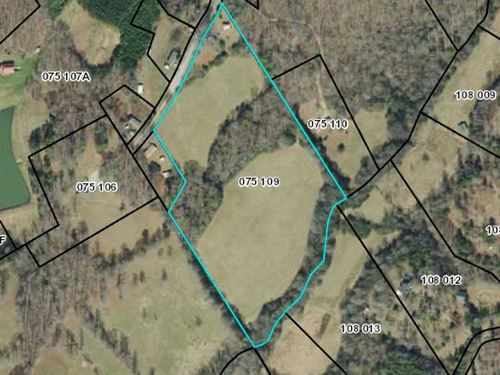 Rolling Pasture-Long Creek Frontage : Demorest : Habersham County : Georgia