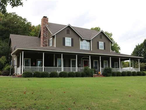 3100 Sq Ft Home And 120 Acres Loca : Big Cabin : Craig County : Oklahoma