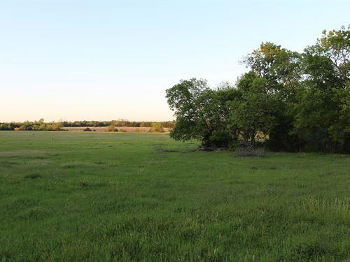 Ranch Recreational Land Lamar : Petty : Lamar County : Texas
