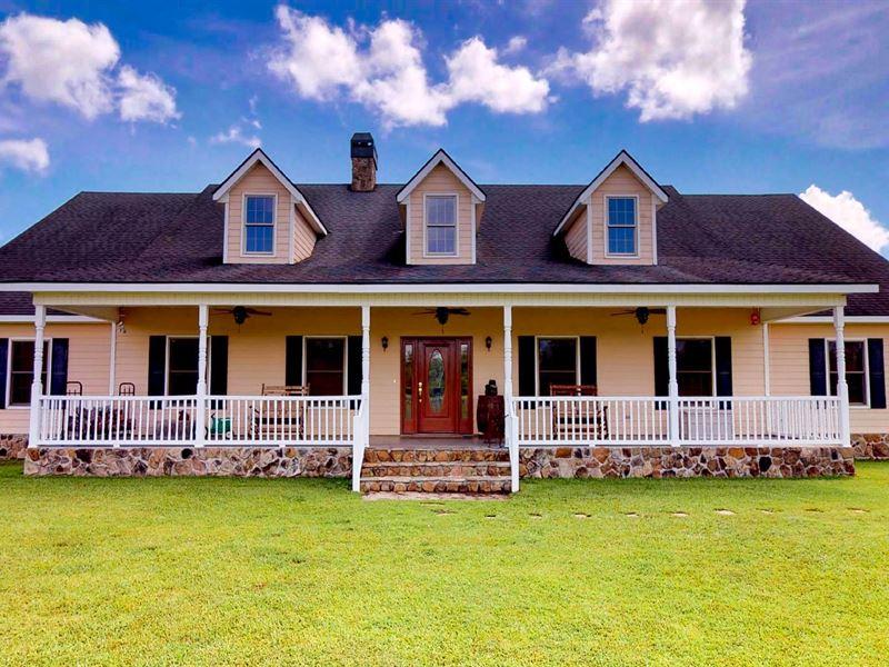 Beautiful Farm In Lake Park, Ga : Lake Park : Lowndes County : Georgia