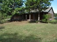 Country Cabin With Pasture Woods : Clinton : Van Buren County : Arkansas