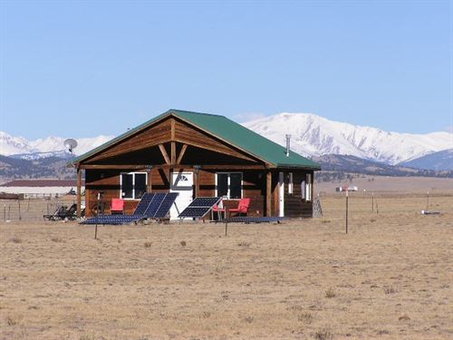 Mountain Home 80 AC Lake George CO : Lake George : Park County : Colorado