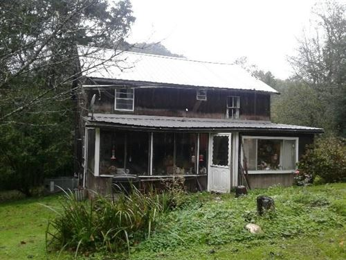 30 Acres 2 Story Home & Free Gas : Millstone : Calhoun County : West Virginia
