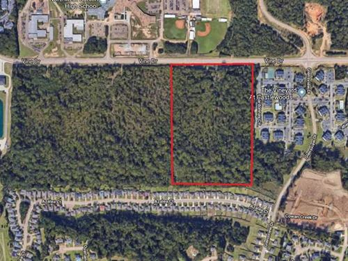 26.27 Acres, Residential, Recr : Flowood : Rankin County : Mississippi