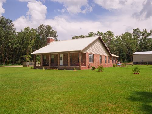 Fabulous Florida Country Retreat : Fort White : Columbia County : Florida