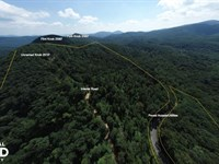 Layered Long Range Views, Paved Acc : Black Mountain : Buncombe County : North Carolina