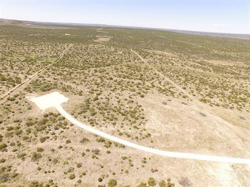50.118 Acre Home Site Bull Run : Mertzon : Irion County : Texas