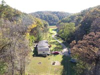 2 Country Homes on 43 Wooded Acres : Prairie Du Chien : Crawford County : Wisconsin