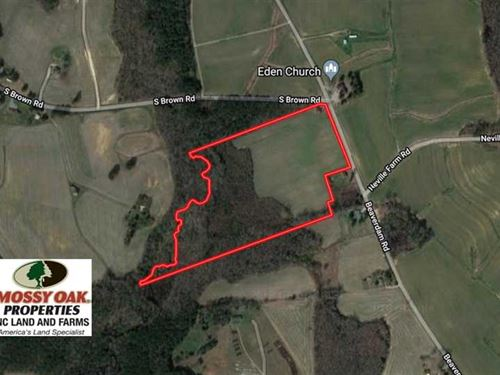 24.5 Acres of Farm And Hunting Lan : Enfield : Halifax County : North Carolina