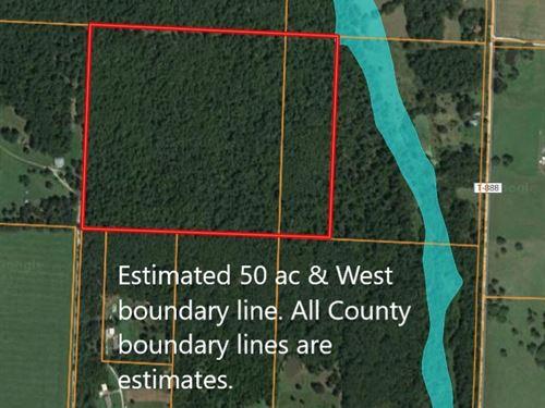 Hunting Land in Ozarks, Missouri : Buffalo : Dallas County : Missouri