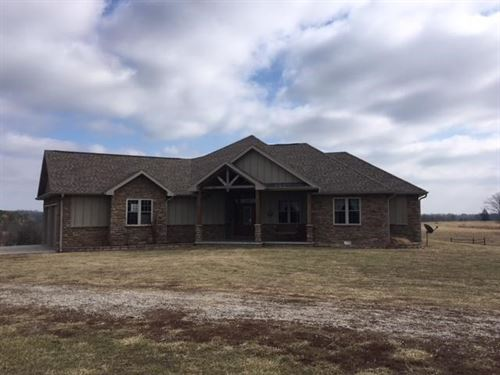 Custom Home Cattle Farm 207 Acres : Mountain Grove : Douglas County : Missouri