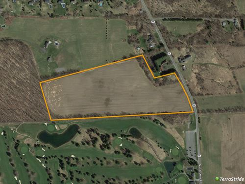 22 Acres Of Vacant Pastures : Cazenovia : Onondaga County : New York