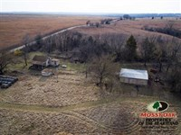 40 Acres With Cabin : Fall River : Greenwood County : Kansas