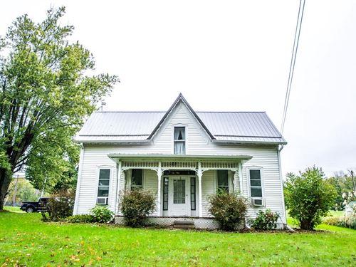 1900S Farmhouse, Unionville, IN : Unionville : Monroe County : Indiana