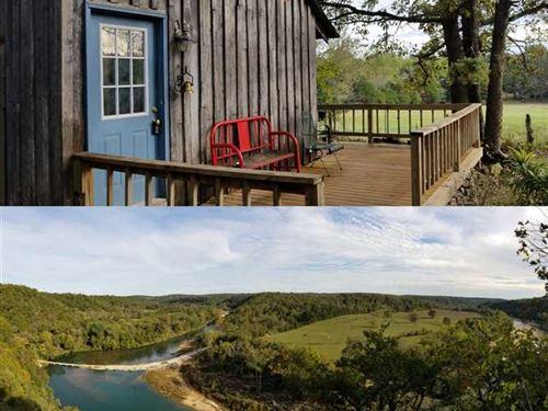 Custom Rustic Home on 92 Beautiful : Tecumseh : Ozark County : Missouri