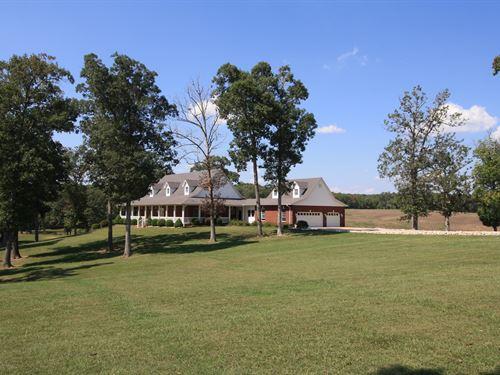 Missouri Home 20 Acres Horse Barn : Poplar Bluff : Butler County : Missouri